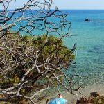 Spiaggia Cala del Morto, Chia, sud – ovest